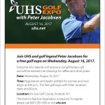 UHS Golf Expo Poster